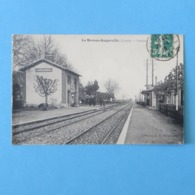 CPA-45-LA BROSSE AUGERVILLE-Station - France