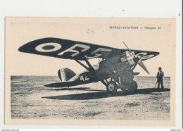 ISTRES AVIATION NIEUPORT 62 CPA BON ETAT - 1939-1945: 2ème Guerre