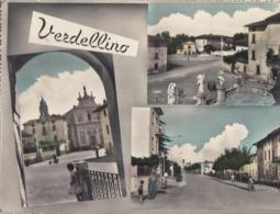VERDELLINO-BERGAMO-MULTIVEDUTE(3 IMMAGINI)-CARTOLINA VERA FOTOGRAFIA VIAGGIATA IL 9-9-1960 - Bergamo
