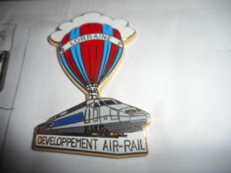 A045 -- Pin's Ballard TGV Developpement Air-Rail - TGV