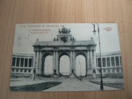 CP 90 / BELGIQUE / BRUXELLES / CARTE VOYAGEE - Otros