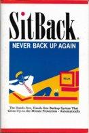 SitBack, Logiciel De Sauvegarde (en Anglais) - Pour Windows 3.0 (1991, TBE+) - Other