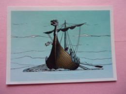 PANINI Astérix CARREFOUR N°71 Drakkar Bateau Ship - Panini
