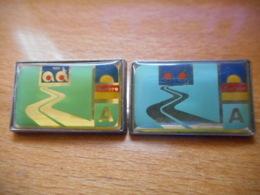 A045 -- 2 Pin's Pichard AD - Pin's & Anstecknadeln