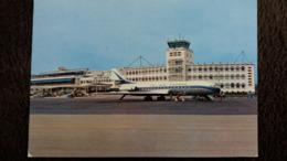CPSM NICE 06 LA CARAVELLE ET L AEROPORT DE NICE COTE D AZUR AVION ED MONTLUET 1970 - 1946-....: Ere Moderne