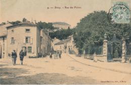 54) BRIEY : Rue Des Foires (1906 - Colorisée) - Animée (2) - Briey