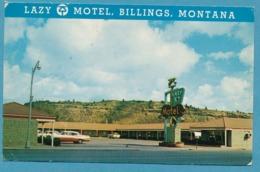 BILLINGS - LAZY K-T MOTEL Ford Fairlane 1958 - Voitures De Tourisme