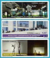 España. Spain. 2016. Museos. MNCC, MACBA E IVAM - 2011-... Unused Stamps