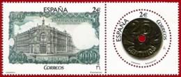España. Spain. 2016. Numismática. Billete De 1.000 Pesetas Y Moneda De 25 Céntimos - 2011-... Nuevos & Fijasellos