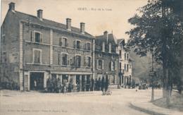 54) BRIEY : Rue De La Gare - Hôtel Du Commerce - Briey