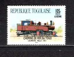 TOGO N° PA 528 NEUF SANS CHARNIERE COTE  1.30€  TRAIN - Togo (1960-...)