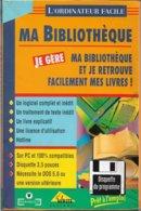 Logiciel Je Gère Ma Bibliothèque - Pour DOS 5.0 Ou Supérieur (1994, TBE) - Other