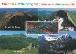 63----VOLCANS D'AUVERGNE--dômes Et Dômes-coulée---multi-vues--voir 2 Scans - France