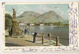 S7787 - Lago Di Lugano - Monumento Gugi. Tell - TI Ticino