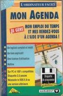 Logiciel Je Gère Mon Agenda - Pour DOS 5.0 Ou Supérieur (1994, TBE+) - Other