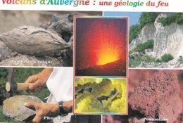 63----VOLCANS D'AUVERGNE--une Géologie Du Feu---multi-vues--voir 2 Scans - France