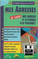 Logiciel Je Gère Mes Adresses - Pour DOS 5.0 Ou Supérieur (1994, TBE+) - Other