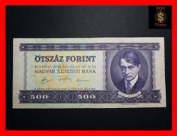 HUNGARY 500 Forint  31.7.1990  P. 175 VF + - Hungría