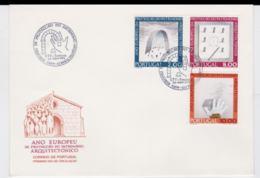 Portugal FDC 1975 Monument Year - Funchal (SKO16-49) - Monumentos