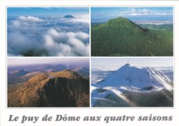 63----AUVERGNE--le Puy De Dôme Aux Quatre Saisons--voir 2 Scans - France