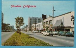 Chevrolet Impala 1962 Ford Thunderbird VW 1200 Käfer GLENDALE South Down Brand Boulevard - Voitures De Tourisme