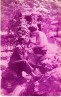 Künstlerkarte Liebespaar Frankreich Ca 1925 Rotdruck Wörgl - Breitenbach - Ohne Zuordnung
