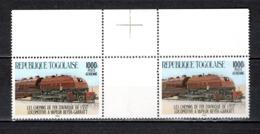 TOGO N° PA 530 + PA 530 SE TENANT  NEUFS SANS CHARNIERE COTE  ? € RARE  TRAIN  VOIR DESCRIPTION - Togo (1960-...)