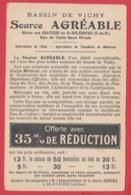 CPA-03-VICHY 1900- Source AGRÉABLE -Graviers De St-SYLVESTRE -  *2 SCANS - Vichy