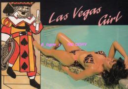 REF 427 : CPM Pin Up Las Vegas Girl Jeu De Carte - Pin-Ups
