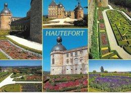 24 Hautefort   Aspect Divers  Jardin Fleuri Chateau - Frankreich