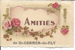 "60 - Saint-Germer-de-Fly - Carte Fantaisie ""Amitiés De St Germer..."" - Francia"
