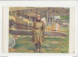 AVIATEURS GUYNEMER D APRES LE PORTRAIT DE BOUCHOIR  CPA BON ETAT - Aviateurs