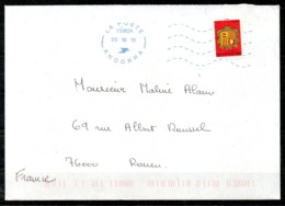ANDORRE. N°638 De 2007 Sur Enveloppe Ayant Circulé. Armoiries. - Covers