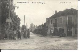 71 - Chaudenay - Route De Chagny - France