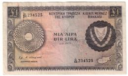 Cyprus 1 Pound 01/11/1972 - Cyprus