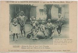 Missions - Océanie - Mission Des Pères Du Sacré Coeur D'Issoudun - Enfance - Vache - Missions