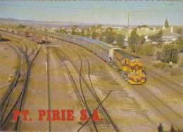 "Océanie - Australia - Chemins De Fer - ""The Indian-Pacific"" - Port Pirie - Gare - Adelaide"