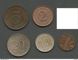 Estland Estonia Estonie 1922 - 1935 Lot Old Coins - Estland