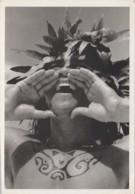 Océanie - Tahiti - Photo Gian Paolo Barbieri - Tatouage - Portrait - Dents - Tahiti
