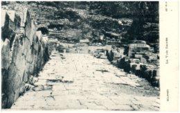 DELPHES - La Voie Sacrée - Greece