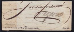 AUTOGRAPHE SUR FRAGMENT: PIERRE AUGEREAU MARECHAL D'EMPIRE - Handtekening