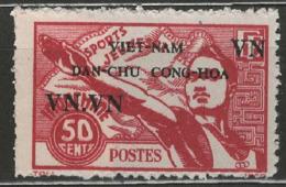 Vietnam Du Nord YT 1 (X) MNG - Viêt-Nam