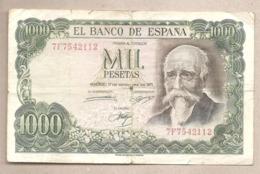 Spagna - Banconota Circolata Da 1000 Pesetas P-154a.3 - 1971 - [ 3] 1936-1975: Franco