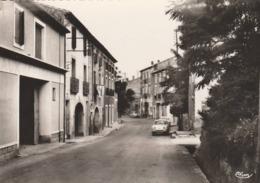 Magalas  - Avenue De La Gare -cpsm Grand  Format - Scan Recto Verso - Autres Communes