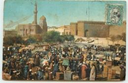 EGYPTE LE CAIRE LE MARCHE SQUARE DE LA CITADELLE - Le Caire