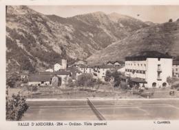 ANDORRE Cpsm 10x15 . VALLS D'ANDORRA . ORDINO . Visa General ( Hôtel  Coma / Terrain De Tennis ) ) - Andorra