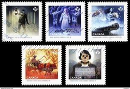 Canada (Scott No.2861-65 - Le Canada Hanté / Haunted Canada) (o) - Used Stamps