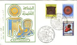 ALGERIE - ARTISANAT - PREMIER JOUR - 1969. - Algerien (1962-...)