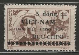 Vietnam Du Nord YT 36A (X) MNG - Viêt-Nam