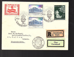 GRAZER MESSE 1955 Christlkindl R-St. Oswald > St. Gallen (637) - 1945-60 Briefe U. Dokumente